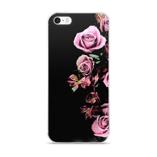 Pink Rose iPhone Case (5/5s/Se, 6/6s, 6/6s Plus)