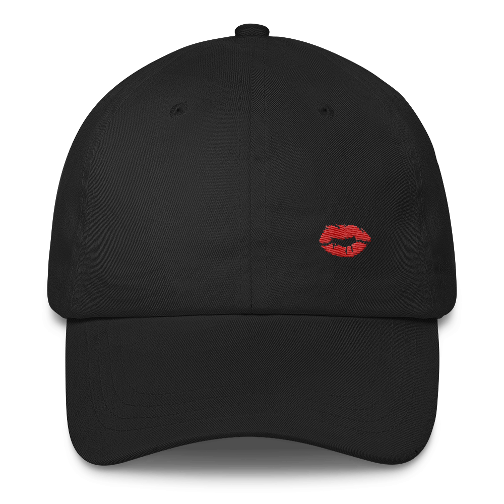 Red Lips Dad Hat