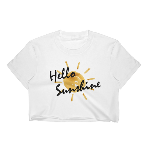 Hello Sunshine Crop Top