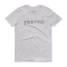 Yes > no T