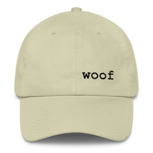 """Woof"" Dad Hat"