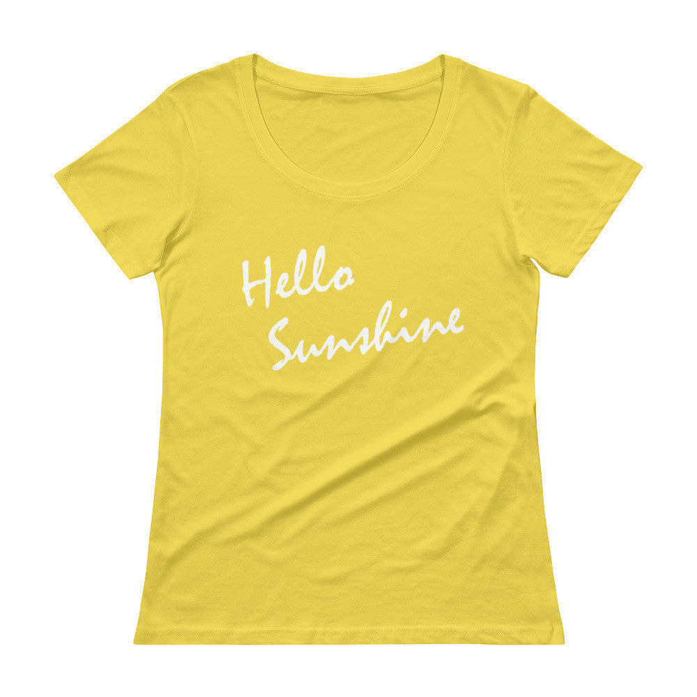 Hello Sunshine Scoopneck T