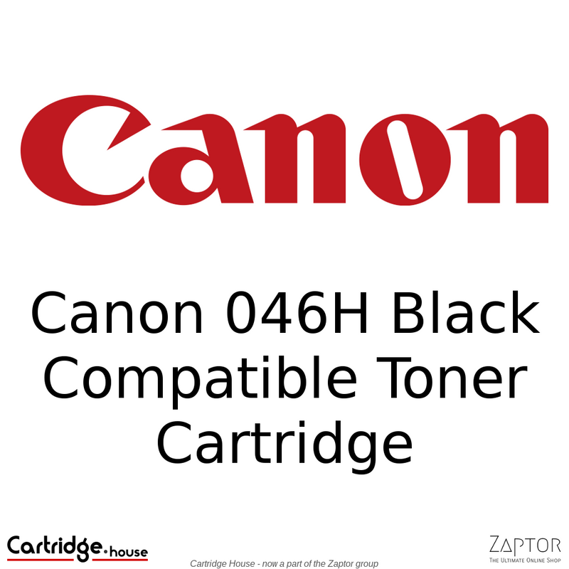 Canon 046 Black Compatible Toner Cartridge - Alternate Brand