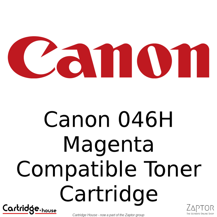 Canon 046 / 046H Magenta High Yield Compatible Toner Cartridge
