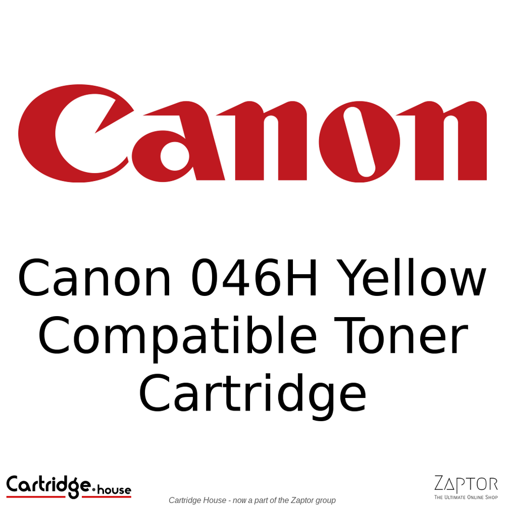 Canon 046 / 046H Yellow High Yield Compatible Toner Cartridge
