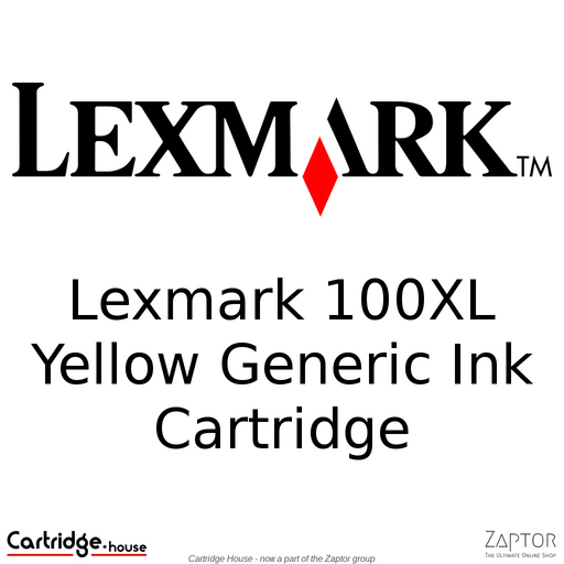 Lexmark 100XL Yellow Compatible Ink Cartridge