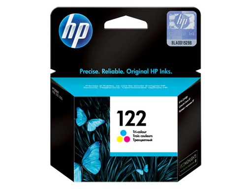 HP 122 Tri-Colour Original Ink Cartridge