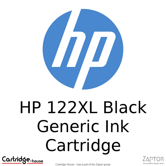HP 122XL Black Remanufactured Cartridge (CH563HE)