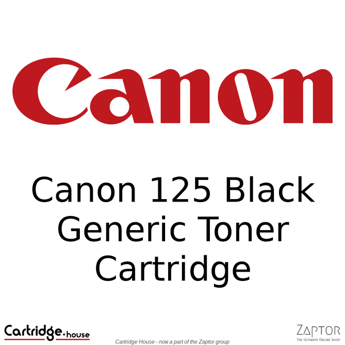 Canon 125 Generic / Compatible Toner Cartridge