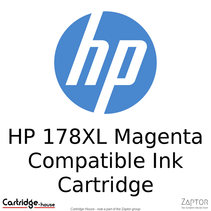 HP 178XL Magenta Compatible Ink Cartridge (CB324HE)