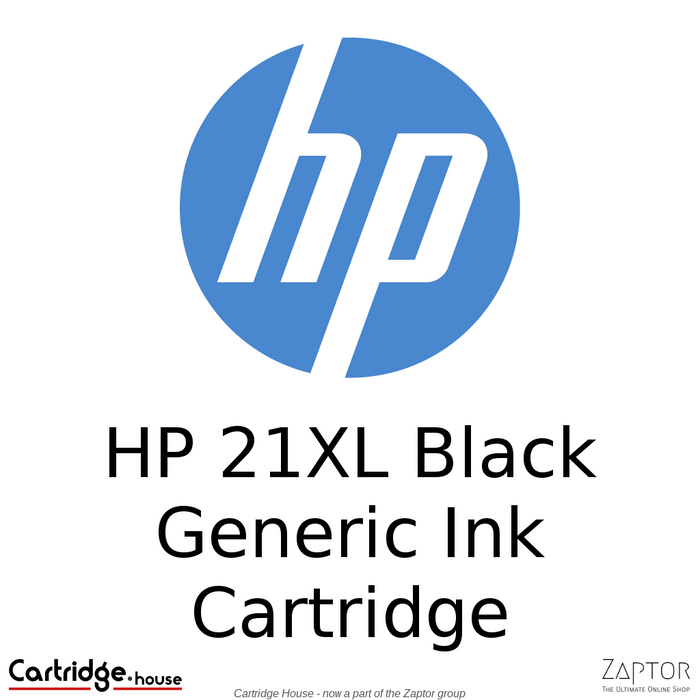 HP 21XL Black Remanufactured Ink Cartridge (C9351CE)