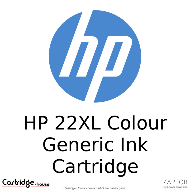 HP 22XL Colour Remanufactured Ink Cartridge (C9352CE)