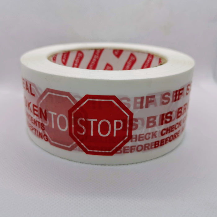 Super secure Security Tape 72x100m or 48mm x 100m