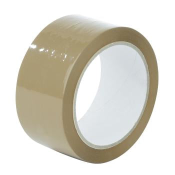 Brown Buff Packaging Tape 48mm x 50m large core (Per 1)