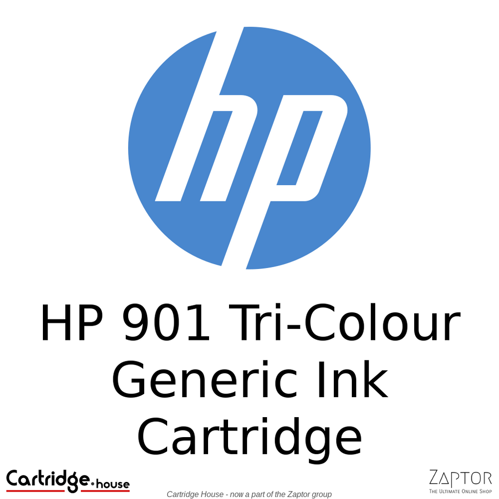 HP 901 Tri-Colour Remanufactured Ink Cartridge (CC656AE)