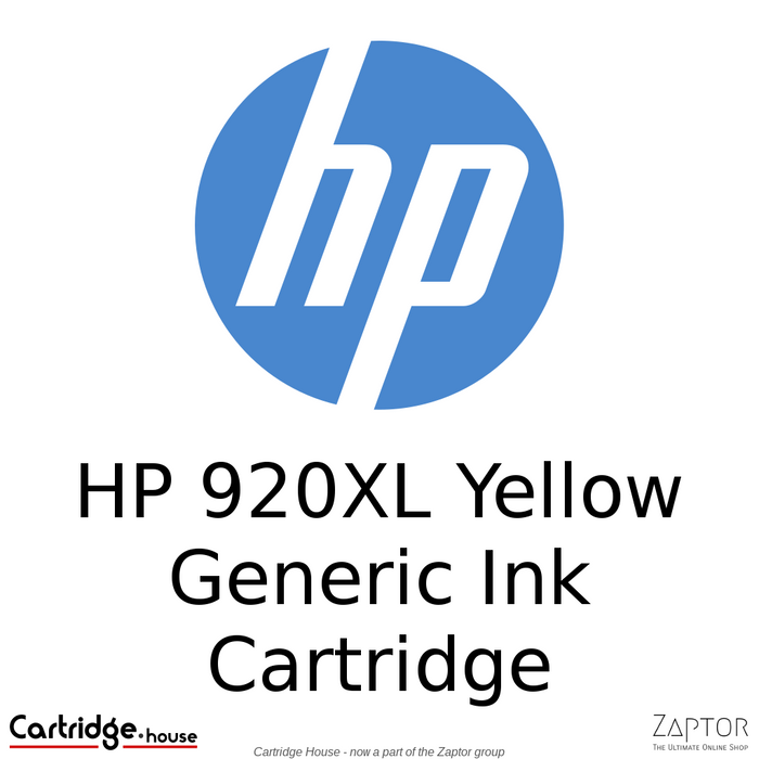 HP 920XL Yellow Compatible Ink Cartridge (CD974AE)