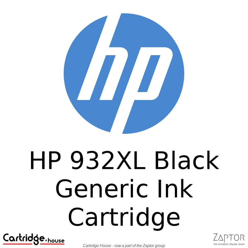 HP 932XL Black Compatible Ink Cartridge (CN053AE)