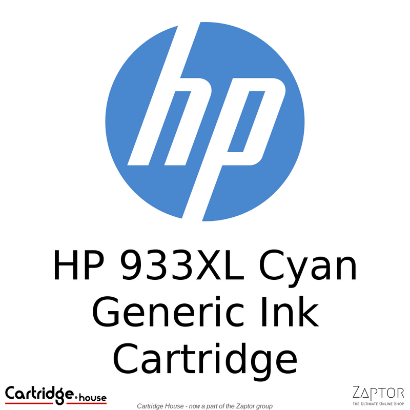 HP 933XL High Yield Cyan Compatible Ink Cartridge (CN054AE)
