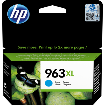 HP 963XL Cyan Original Ink Cartridge