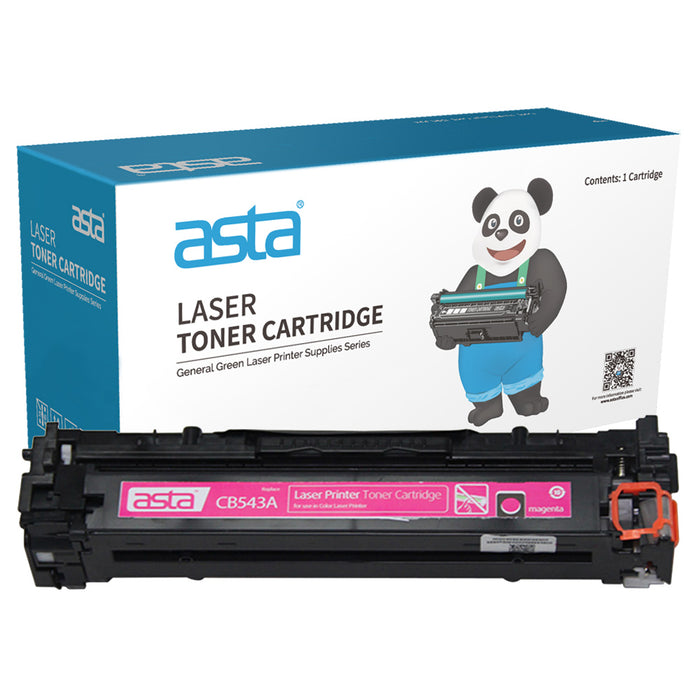 HP 125A Magenta Compatible Toner Cartridge (CB543A)
