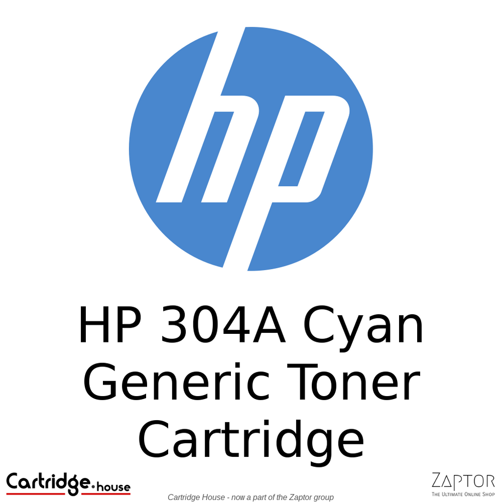 HP 304A Cyan Compatible Toner Cartridge (CC531A)