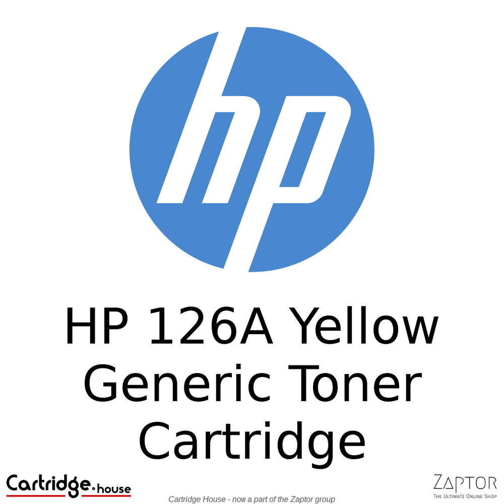 HP 126A Yellow Generic Toner Cartridge (CE312A)