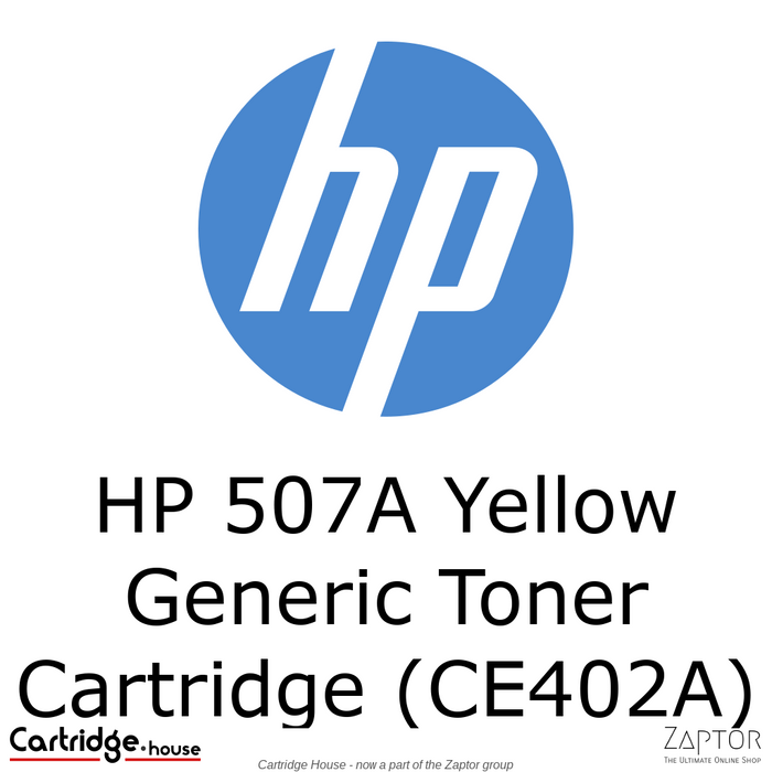 HP 507A Yellow Compatible LaserJet Toner Cartridge (CE402A)