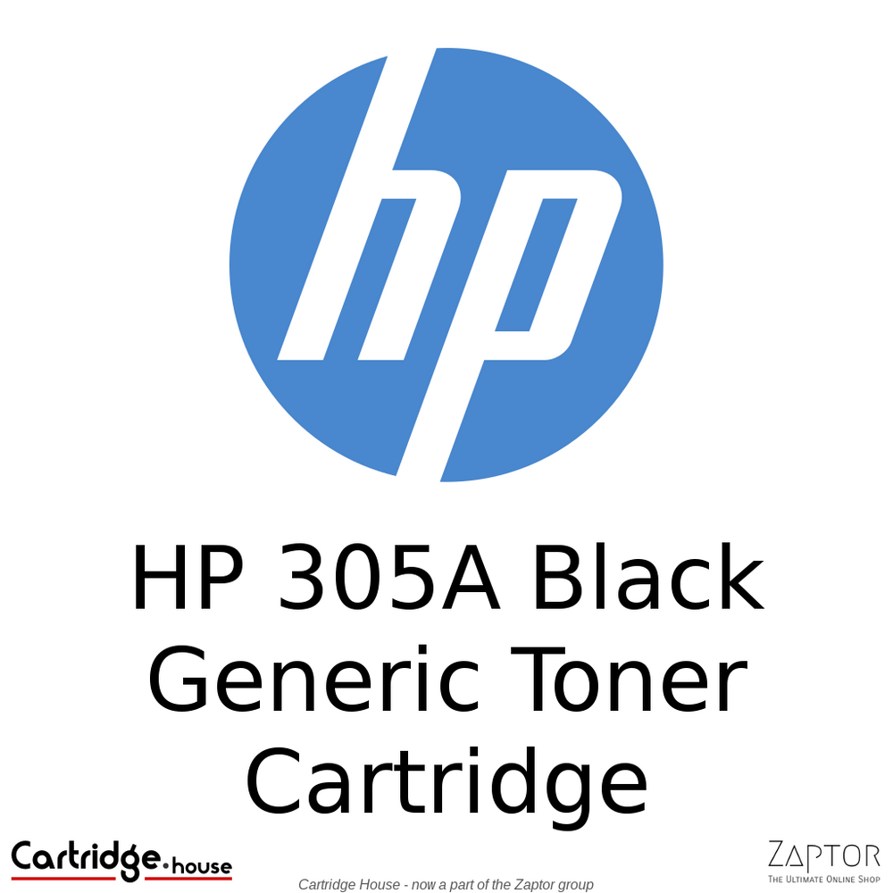 HP 305A Black Compatible Toner Cartridge (CE410A)