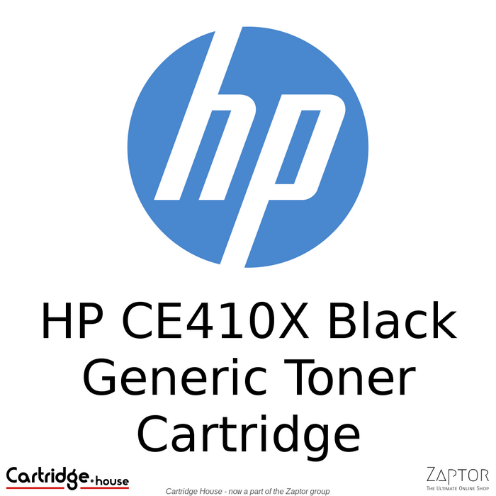 HP 305X Black Compatible Toner Cartridge (CE410X)
