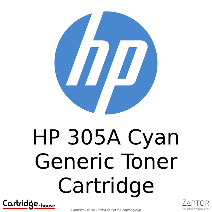 HP 305A Cyan Compatible Toner Cartridge (CE411A)