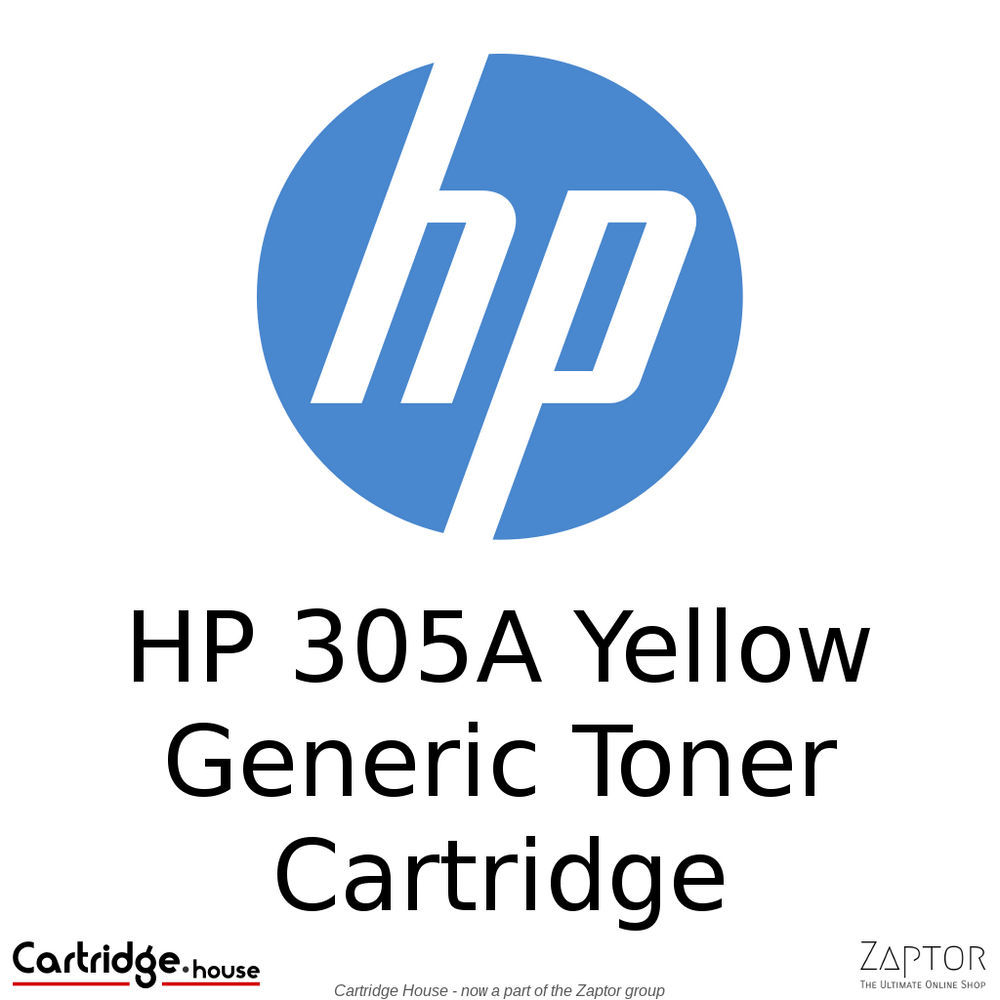 HP 305A Yellow Compatible Toner Cartridge (CE412A)