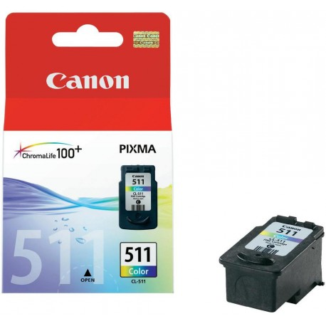 Canon CL-511 Tri-Colour Standard Yield Original Ink Cartridge
