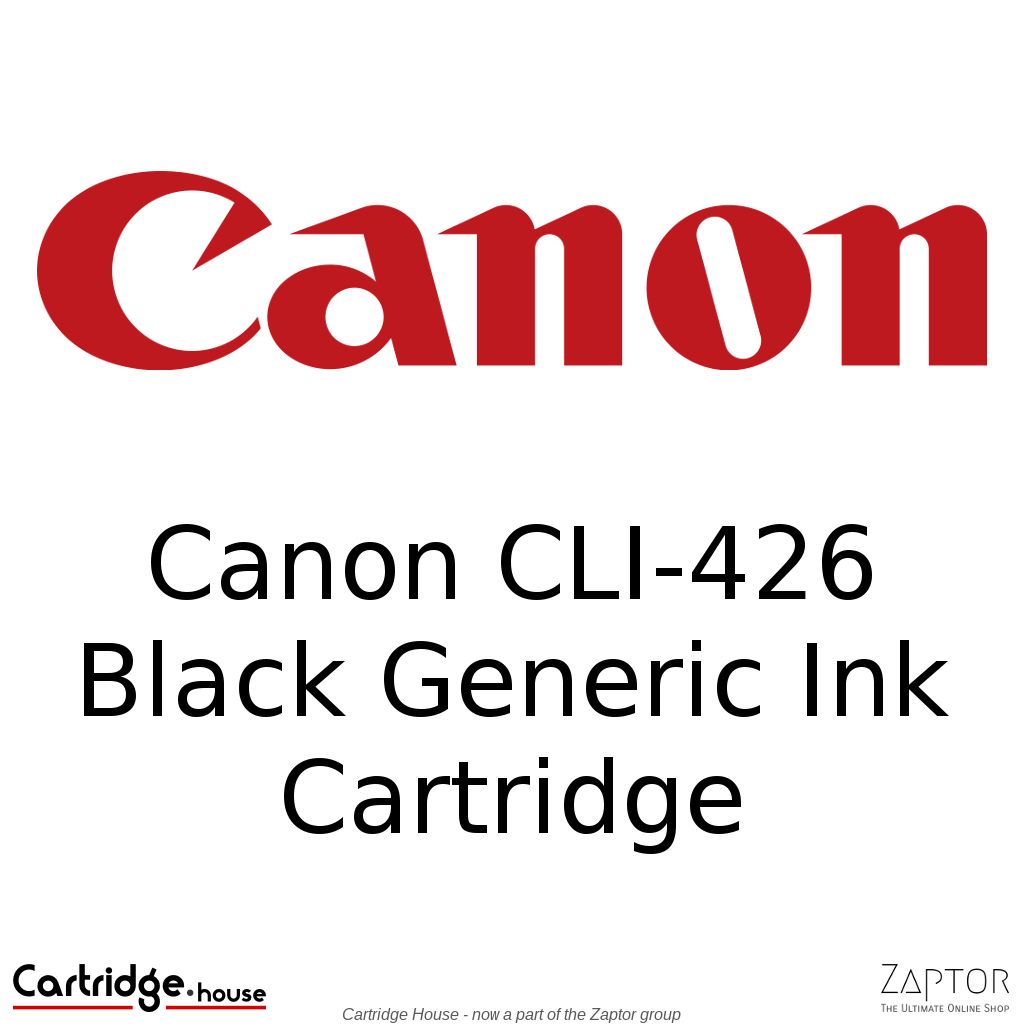 Canon CLI-426 Black Generic Ink Cartridge
