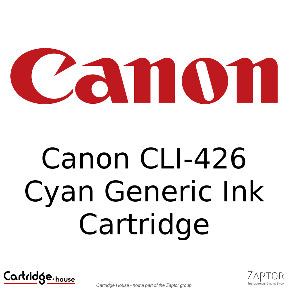 Canon CLI-426 Cyan Generic Ink Cartridge