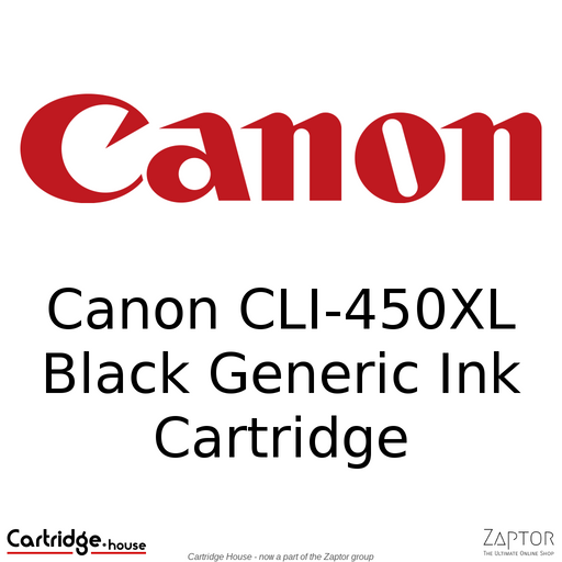 Canon CLI-450XL Black Generic Ink Cartridge