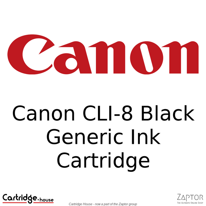Canon CLI-8 Black Generic Ink Cartridge