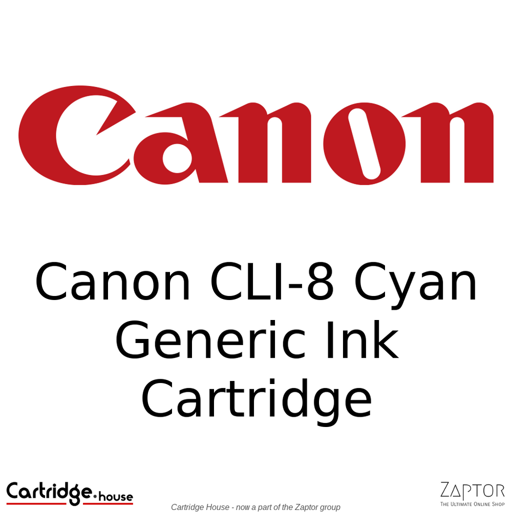 Canon CLI-8 Cyan Generic Ink Cartridge