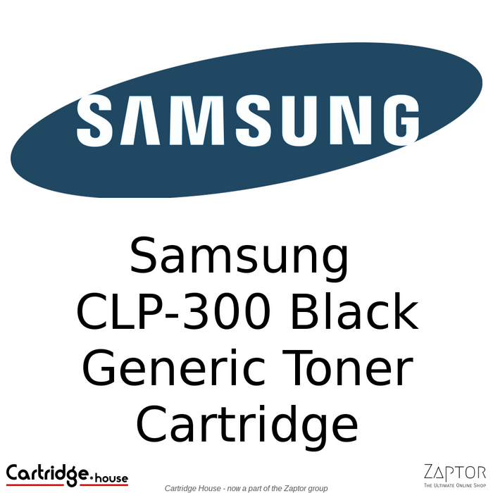 Samsung CLP-K300 Black Compatible Toner Cartridge