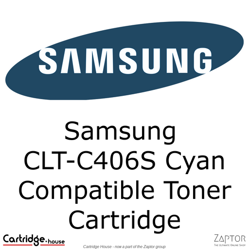 Samsung 406 | CLT-C406S Cyan Compatible Toner Cartridge