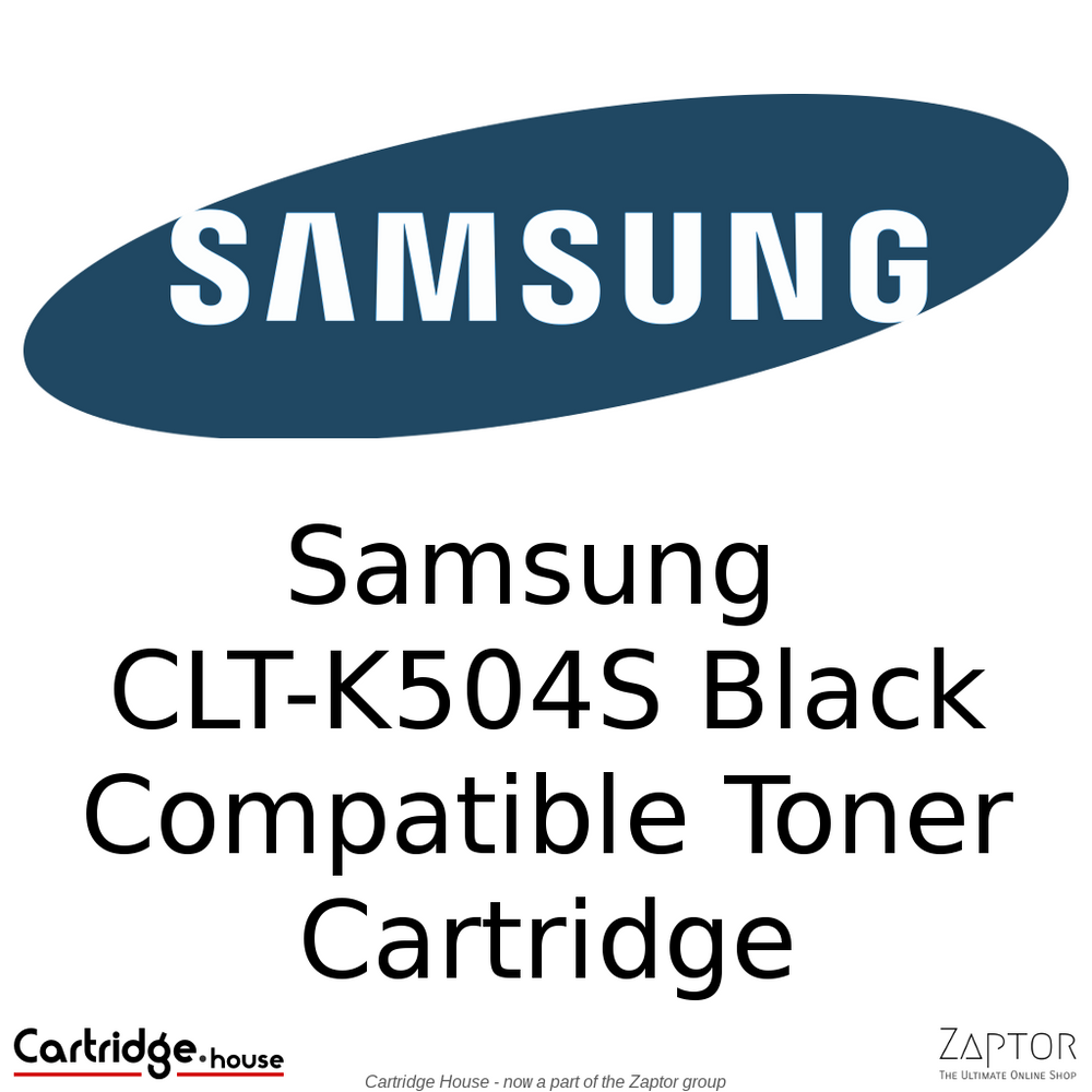 Compatible Samsung K504 | CLT-K504S Black Toner Cartridge