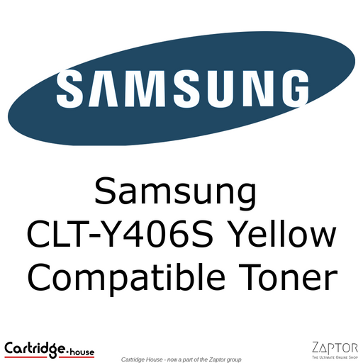 Samsung 406 | CLT-Y406S Yellow Compatible Toner Cartridge