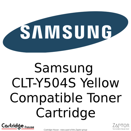 Compatible Samsung Y504 | CLT-Y504S Yellow Toner Cartridge