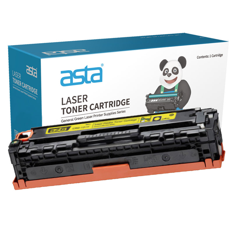 Canon 731 Yellow Compatible Toner Cartridge - Asta Brand