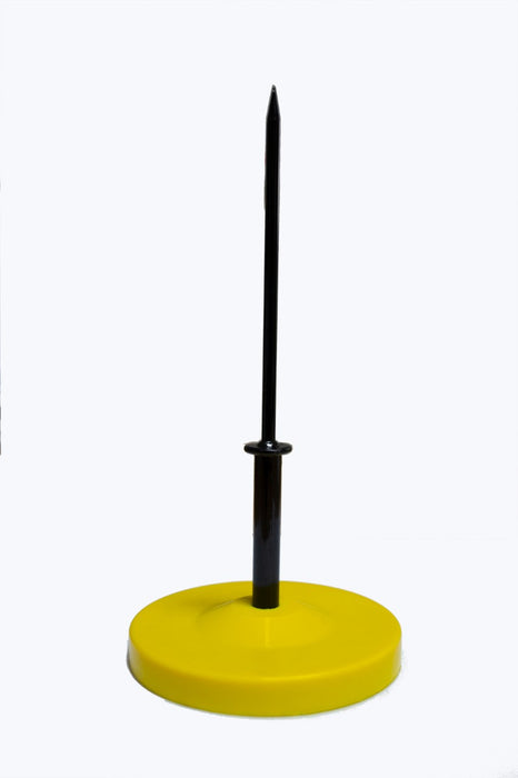 Yellow Plastic Spike File