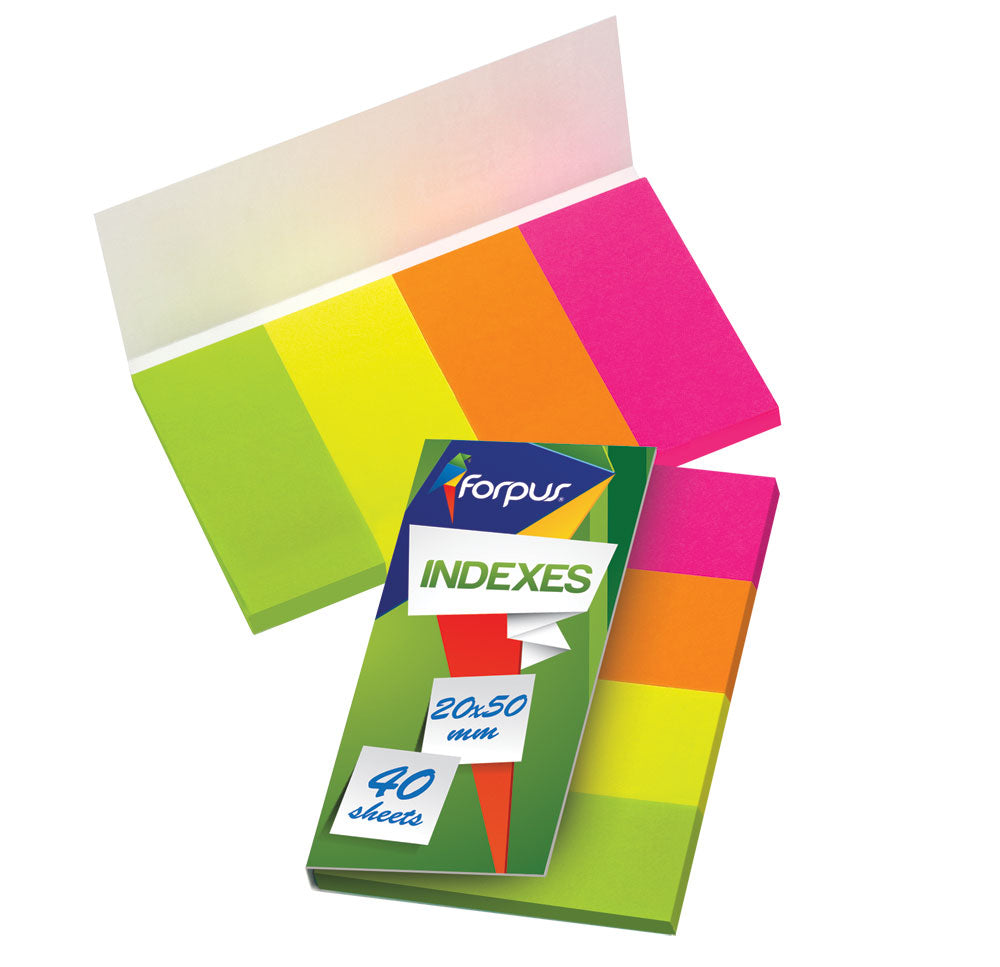 Sticky notes 20mm x 50mm 4x40 Pcs,Neon