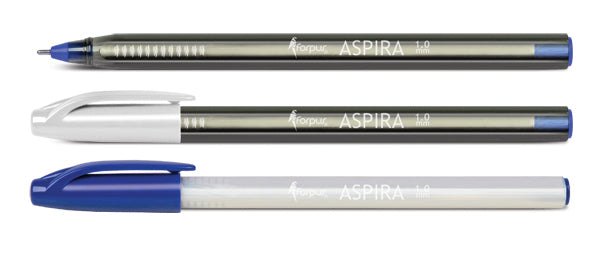 "Ballpoint pen ""ASPIRA"" 1.0mm - Smoky Black"
