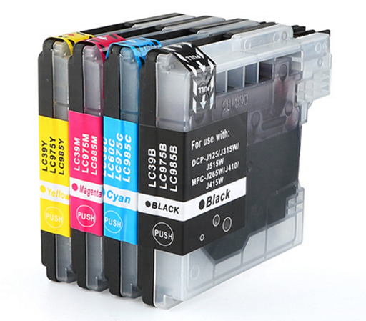 Brother LC-39 Yellow Compatible Ink Cartridge