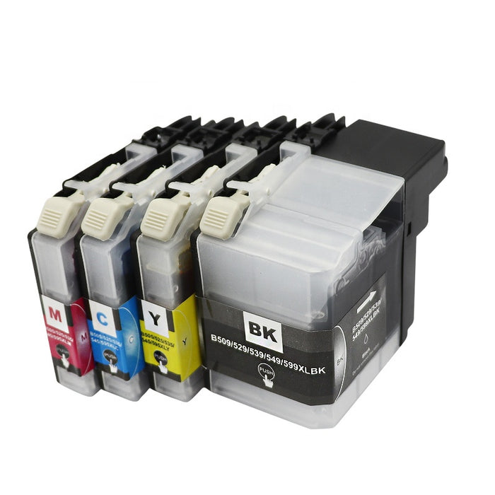 Brother LC-535XL Yellow Compatible Ink Cartridge