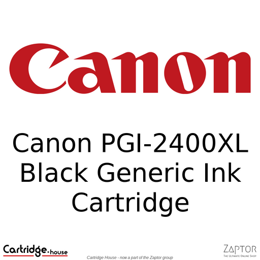Canon PGI-2400XL Black Generic Ink Cartridge