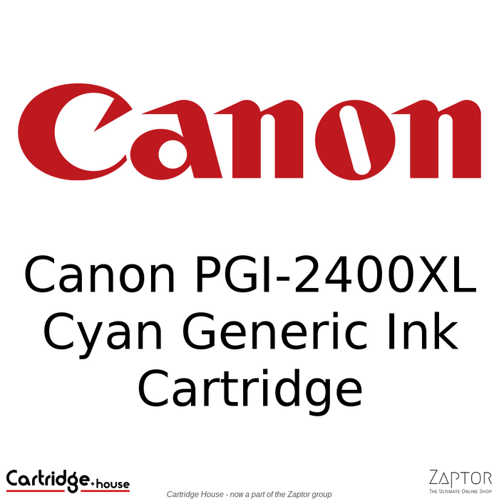 Canon PGI-2400XL Cyan Generic Ink Cartridge